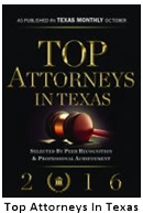 2015 Top attorneys in Texas rising stars