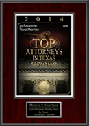 2014 Top attorneys in Texas rising stars
